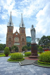 Notre Dame Cathedral, Ho Chi Minh City 2