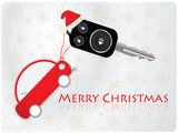 car key with remote - Christmas gift poster