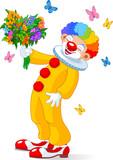 Fototapeta bukiet - kwiaty - Mężczyzna