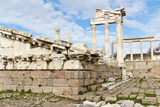 Temple Ruins of Ancient Pergamon