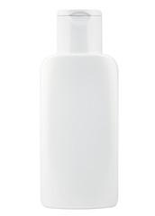cosmetic bottle isolated