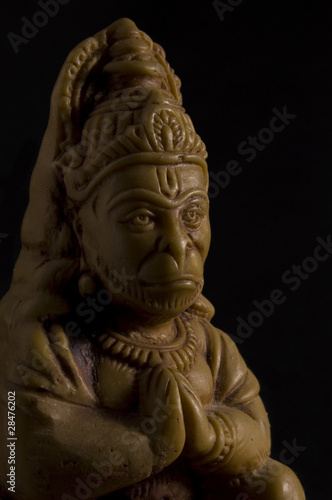 Hanuman, Monkey God of Strength
