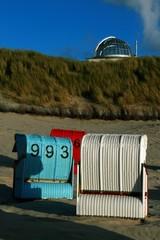 Strandkörbe auf Juist