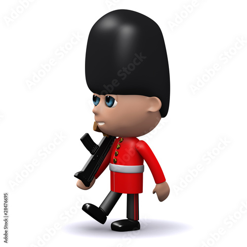 3d Coldstream Guard marching