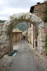 Arco romano a Spello - Umbria