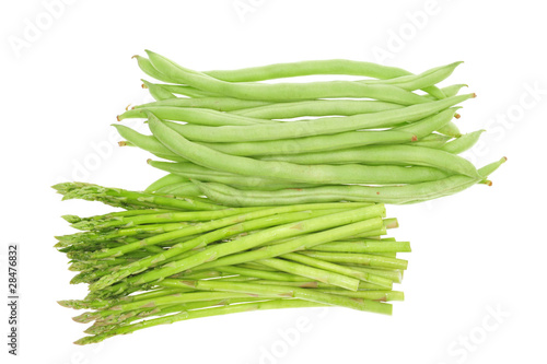 Fresh French Beans And Asparagus