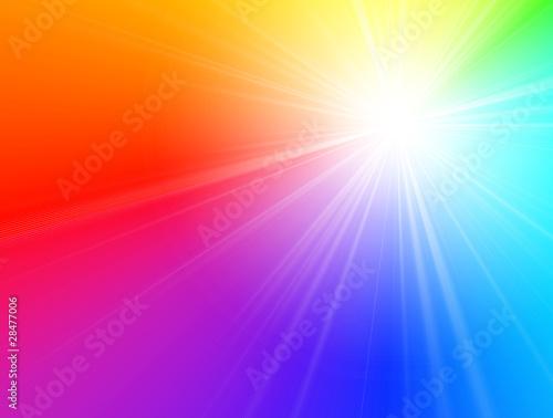 Spectrum starburst