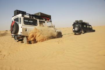 off road nel deserto