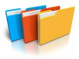 Fototapety Color folders