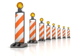 traffic works - Vertical Panel Channelizer