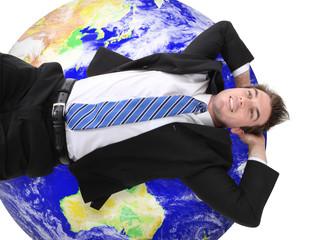 Global Business Man