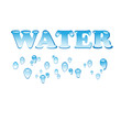 Logo ice water # Vector