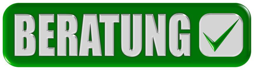 Button grün Ecken rund BERATUNG
