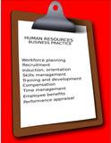 business work checklist clipboard human resources faq poster