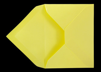 Yellow envelope.