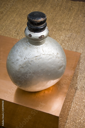 od antique perfumery bottle