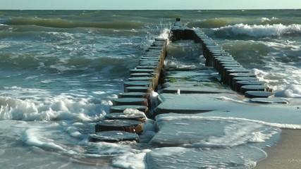 Waves at the Ocean - Video - Wellen am Meer