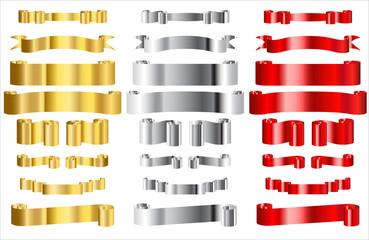 Metallic Ribbons