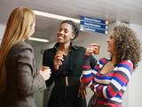 Fototapety women having coffee break