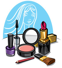 cosmetic make up kit