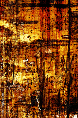 Rusty surface texture