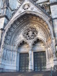 New-York:Cathédrale-Saint-Patrick:Porte