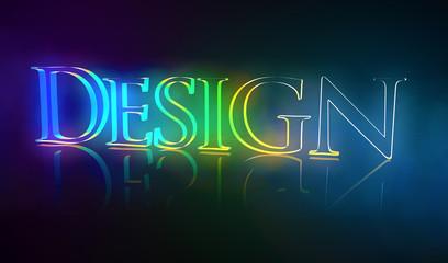 3D Typografie Design