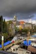 Old harbor at Dordrecht, Holland
