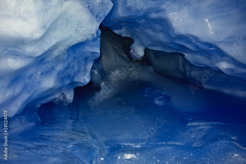 Papiers peints Antarctique blue Ice cave
