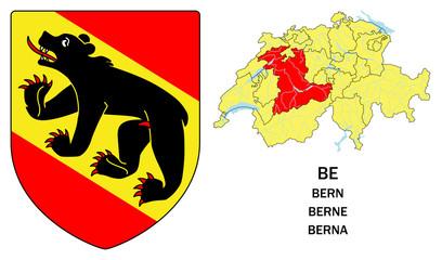 Cantoni della Svizzera: Berna (Bern, Berne)