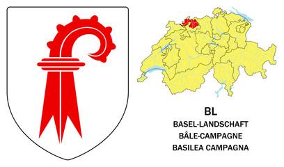 Cantoni della Svizzera: Basilea Campagna (Basel Landshaft)