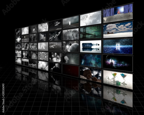 Kolorowe ekrany stają się czarno-białe