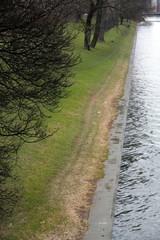Place du Park Meuse river Liege Belgium