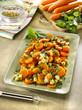 carottes et pois chiches au cumin -