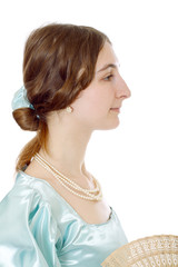 charming young victorian lady