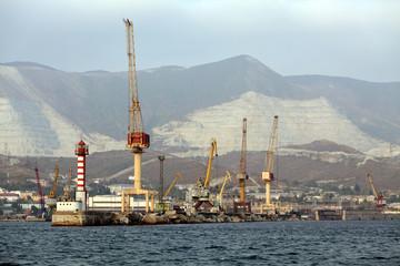 Port of Novorossiysk, Russia