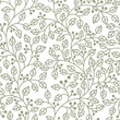 grey seamless pattern with leaves ornament
