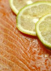 Smoked salmon - Salmone affumicato