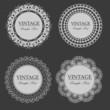 vintage lace frames