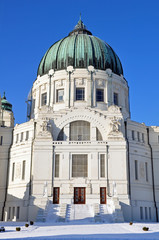 zentraslfriedhof wien - kirche