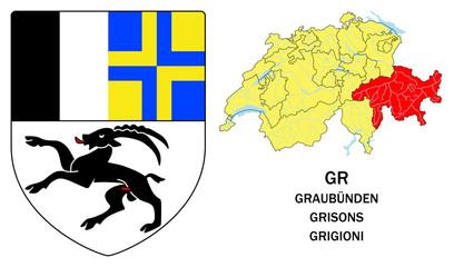 Cantoni della Svizzera: Grigioni (Graubünden, Grisons)