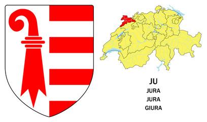 Cantoni della Svizzera: Giura (Jura)