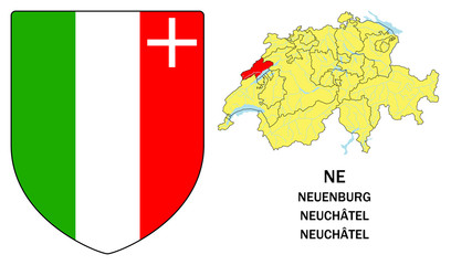 Cantoni della Svizzera: Neuchâtel (Neuenburg)