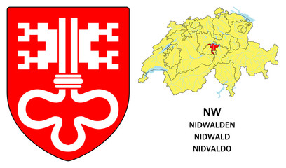Cantoni della Svizzera: Nidvaldo (Nidwalden, Nidwald)