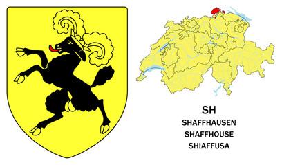 Cantoni della Svizzera: Sciaffusa (Shaffhausen, Shaffhouse)