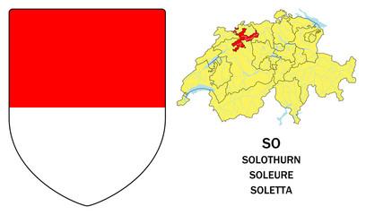 Cantoni della Svizzera: Soletta (Solothurn, Soleure)