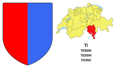 Cantoni della Svizzera: Ticino (Tessin)