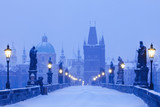 Fototapety prague charles bridge