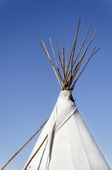 Tee Pee in Morning Light
