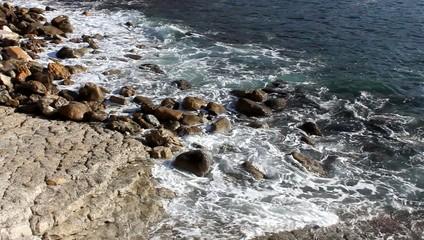 Rivage rocheux à Cassis
